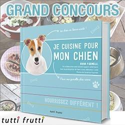 concours je cuisine pour mon chien