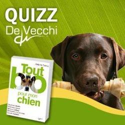 chien bio livre quizz