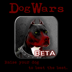 Dog wars application jeu Androïd