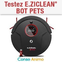 aspirateur e.ziclean® BOT PETS