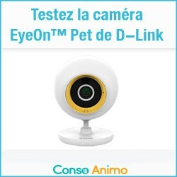 caméra EyeOn™ Pet de D-Link