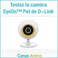 caméra EyeOn™ Pet de D-Link