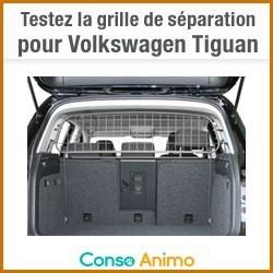 Testez gratuitement la grille de s paration tiguan volkswagen pour chien conso wamiz - Grille de separation pour chien ...