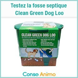 fosse septique pour chien Clean Green Dog Loo
