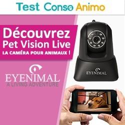caméra pour animaux Pet Vision Live