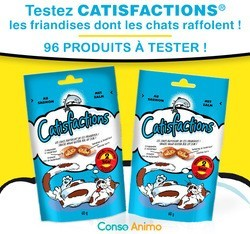 friandises Dreamies pour chat Catisfactions