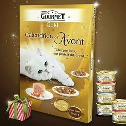 calendrier avent chien chat gourmet