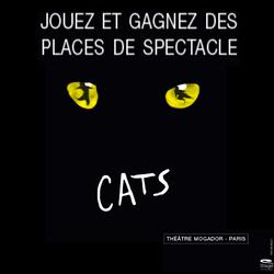 Concours Cats comédie musicale