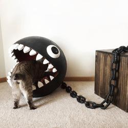 panier pour chat chain chomp mario