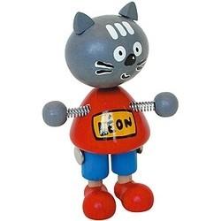 chat léon mascotte chine