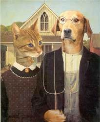 chien american gothic