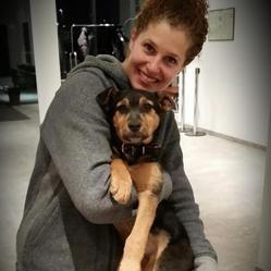 une athlète américaine adopte un chien errant de sotchi
