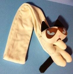 des accessoires et objets à l'effigie de grumpy cat
