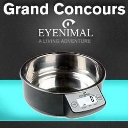 concours eyenimal gamelle intelligent pet bowl