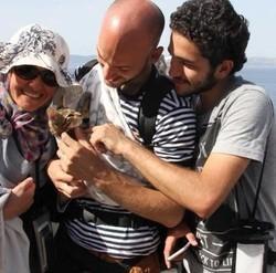 famille qui sauve son chaton