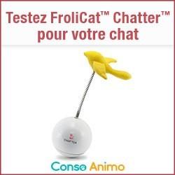 jouet pour chat frolicat chatter petsafe