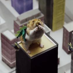 hamster monstre géant godzilla
