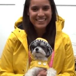 Ice Bucket Challenge avec un chien