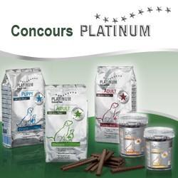 concours croquettes pour chien platinum