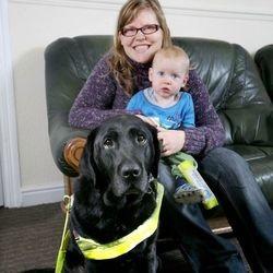 Un chien guide sauve la vie de sa maîtrese et son bébé
