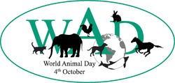 logo journée mondiale des animaux