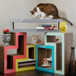 katris ou comment construire soi m me un paradis pour son chat conso wamiz. Black Bedroom Furniture Sets. Home Design Ideas