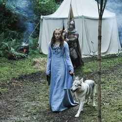 games of thrones chien loup sophie turner