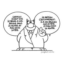 Philippe geluck Le Chat Haïti