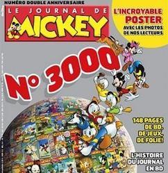 Le journal de Mickey 3000ème numéro