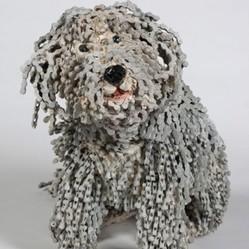 De superbes chiens naissent de vieux v los recycl s photos insolite w - Vieux materiaux recuperation ...