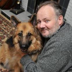 chien héros, berger allemand