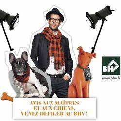 VIP de La Niche défilé chiens maîtres