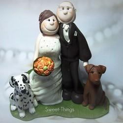 mariage temoins chiens