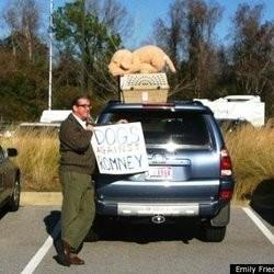 mitt omney présidence usa chien voiture