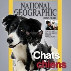 National geographic numéro sur les chats et les chiens