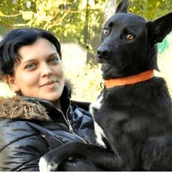 nina et sa chienne shiva