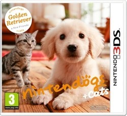 jeu nintendogs + cats 3DS