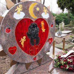tombe chien tipsy cimetiere asnieres