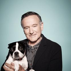 Robin Williams et son chien