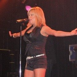 Samantha Fox rage