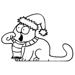 simon's cat video noel dinde