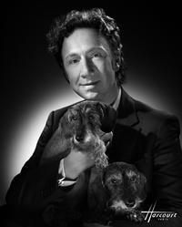 Stéphane Bern et son chien