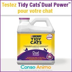 litière tidy cats dual power