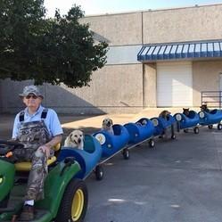 Train pour chien