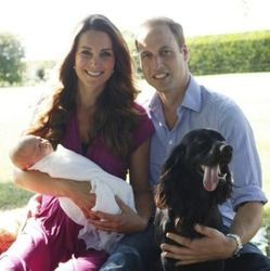 Le prince William, Kate, et leur Cocker anglais Lupo