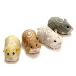 zhu zhu pets jouet hamster peluche