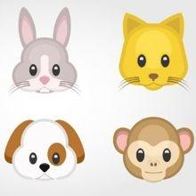 Des emojis d'animaux blessés pour sensibiliser aux tests sur les animaux