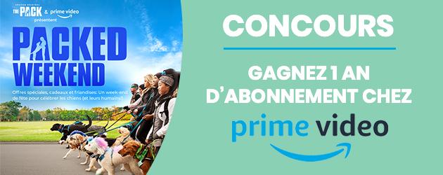 CONCOURS Amazon Prime - La Meute