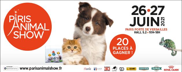 Concours Paris Animal Show 2021