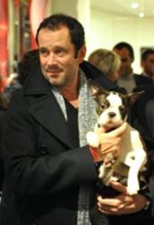 De quelle race est le chien du comédien Christian Vadim, le fils de Catherine Deneuve ?